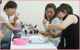 biligual nail course in Tokyo